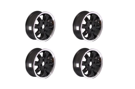 Triumph Herald Revolution Alloy Wheels - 4 Spoke