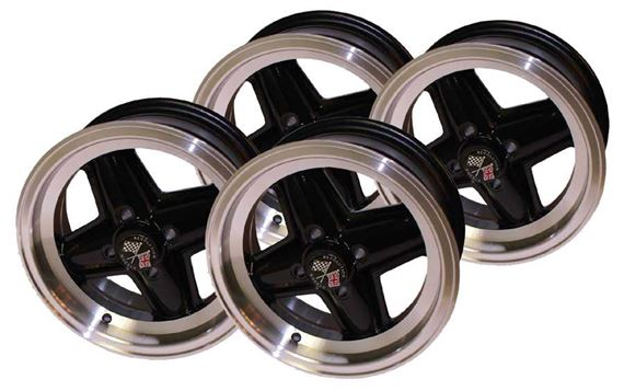 Triumph GT6 Revolution Alloy Wheels - 4 Spoke