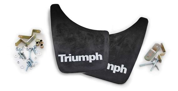 triumph herald mudflaps grid005422 rimmer bros. Black Bedroom Furniture Sets. Home Design Ideas