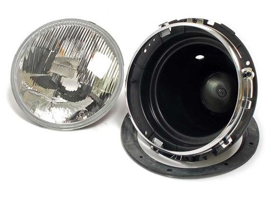 Triumph Herald Headlamps & Fittings - Sealed Beam Type Head Lamps Late 1200, 12/50 & 13/60