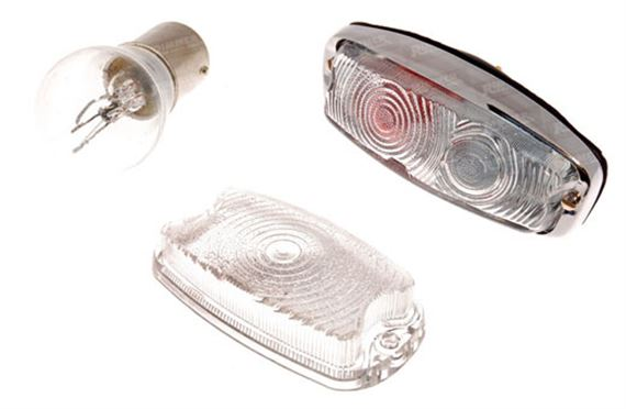 Triumph Herald Front Side/Flasher Lamps - Single Bulb Lamp and Plastic Lenses Early 1200 to 1963/64 approx.