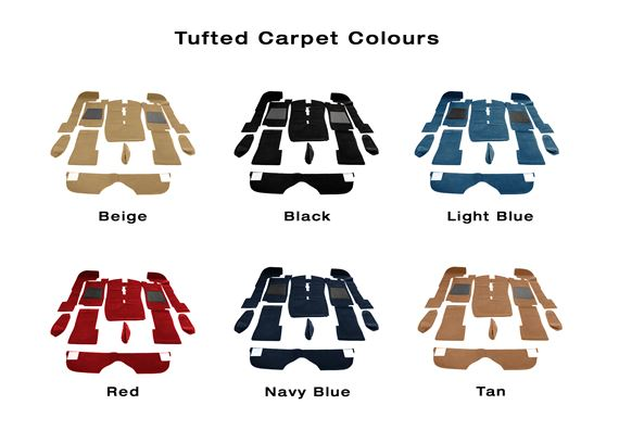 Triumph Stag Tufted Carpet Sets