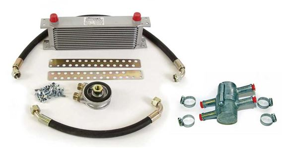 Triumph Spitfire Oil Cooler Kit