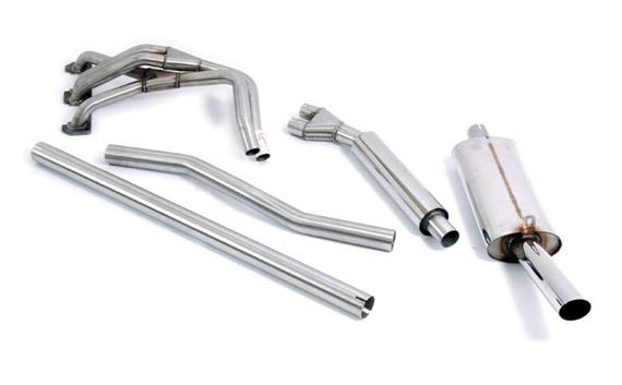 Triumph Spitfire Single Large-Bore Performance Exhaust (Full System) MkIV and 1500 Models Only