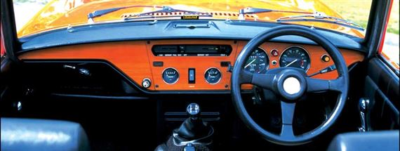 Triumph Spitfire Dash Mounted Switches and Controls - MkIV and 1500 - Right Hand Dash (Drivers) Section