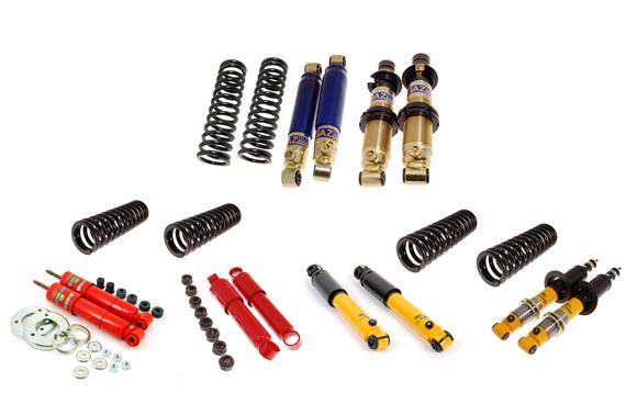 Triumph Vitesse Uprated Shock Absorber and Front Spring Packages