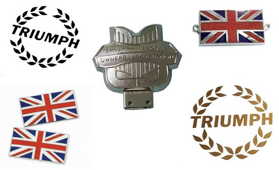 Triumph Herald Decals, Badges and Transfers