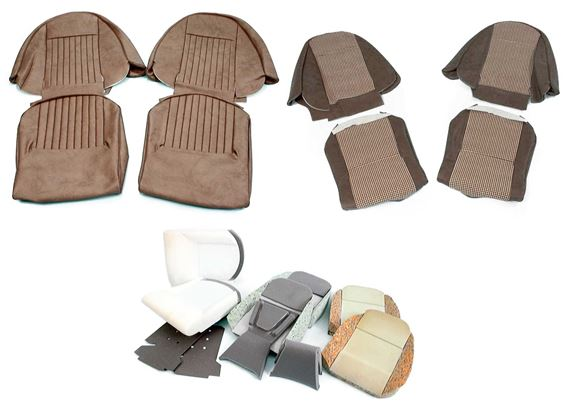 Triumph Spitfire 1500 Seat Cover Kits And Foams Rimmer Bros