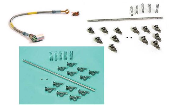 Triumph Vitesse Cylinder Head - Rocker Shaft & Fittings
