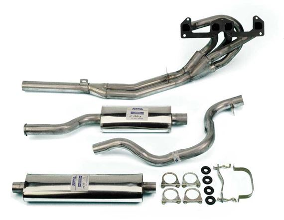 Triumph TR7 Stainless Steel Sports Exhaust Systems