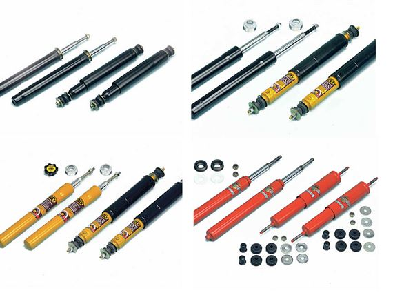 Triumph TR7 Insert and Shock Absorber Kits