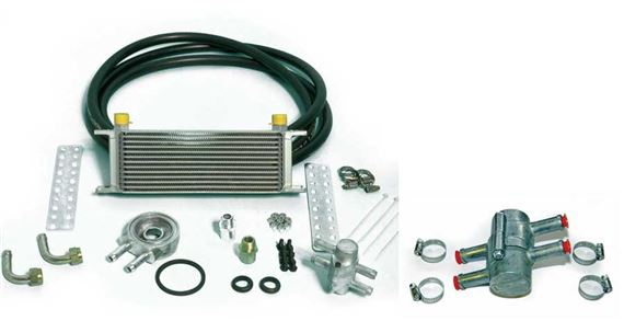 Triumph TR8 V8 Oil Cooler Kit