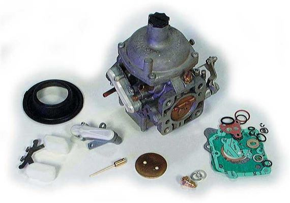 Triumph TR8 Carburettor Components