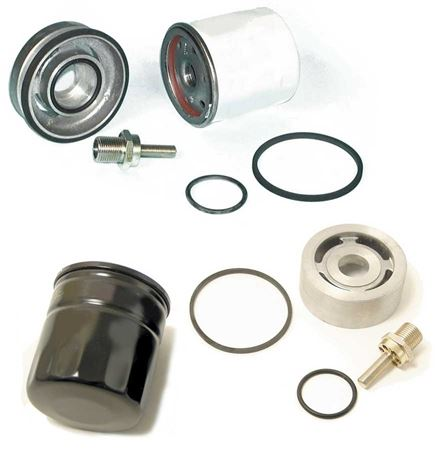 Triumph TR7 and Sprint Spin-On Oil Filter Conversion