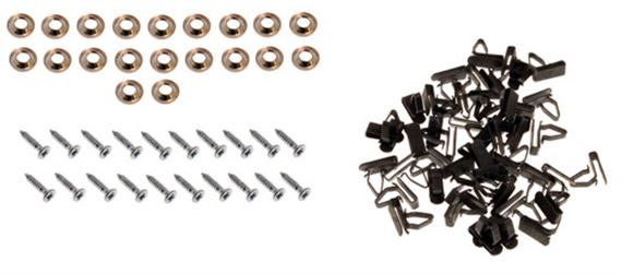 Triumph Herald Fasteners and Fixing Clips