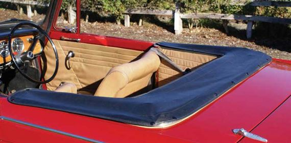 Triumph Herald Hood Stowage Covers