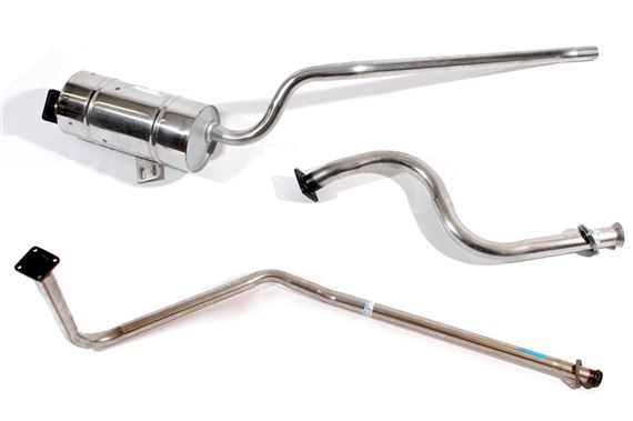 Series Stainless Steel Exhaust - Station Wagon Diesel