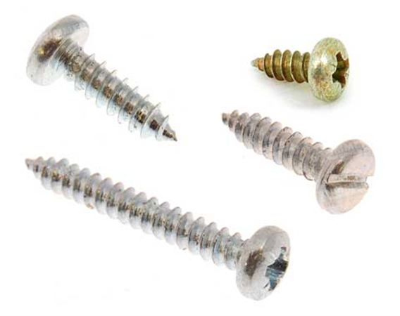 Discovery 3 Self-Tapping Screws - Pan Head - Pozi Drive