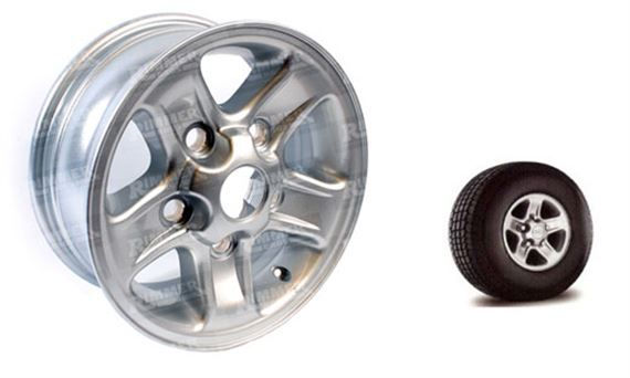 90-110 and Defender Alloy Wheel