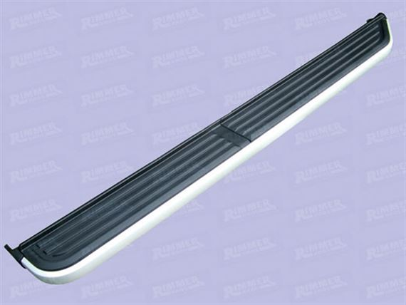 Deployed Side Steps For Range Rover Genuine Accessory: Discovery 4 Side Steps And Side Protection Tubes