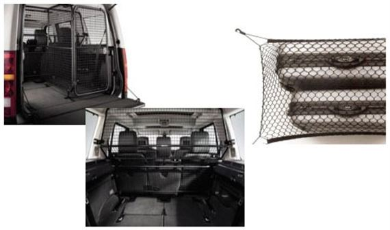 Discovery 4 Cargo Barriers/Dog Guards