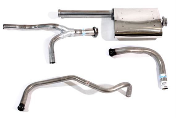 90-110 and Defender Exhaust System Components - 3.5 V8 - 127/130