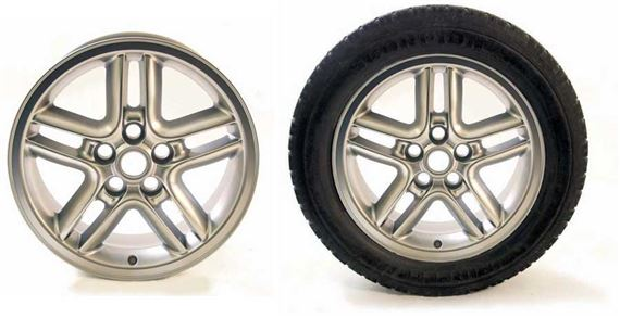Discovery 2 Alloy Wheel & Tyre Packages - Hurricane