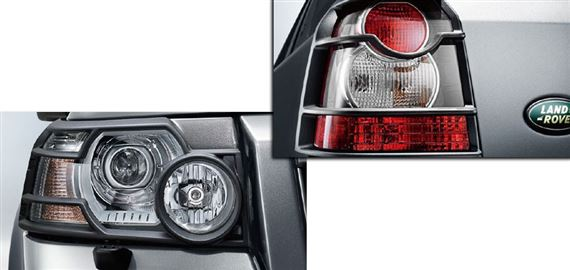 Freelander 2 Lamp Guards