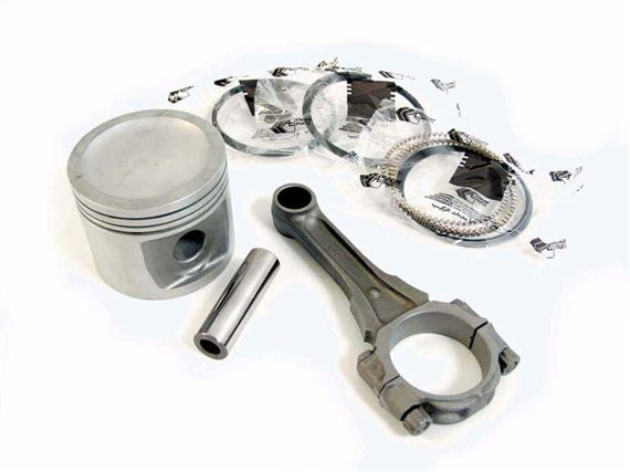 Triumph GT6 Piston Ring Sets - Flat Top Pistons