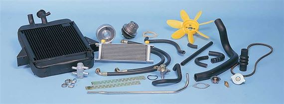 Triumph GT6 Radiator and Hoses