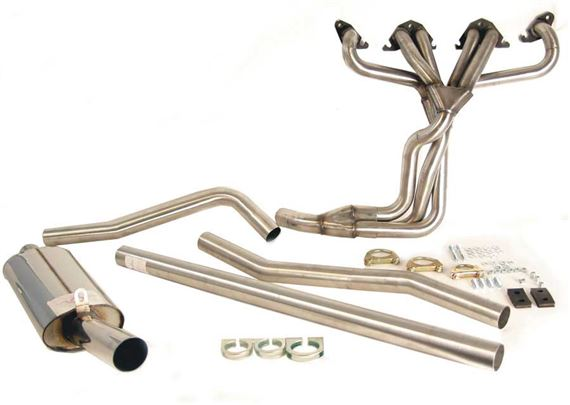 Triumph GT6 Single Exit Large Bore Performance Exhaust System - Mk2 and Mk3 only