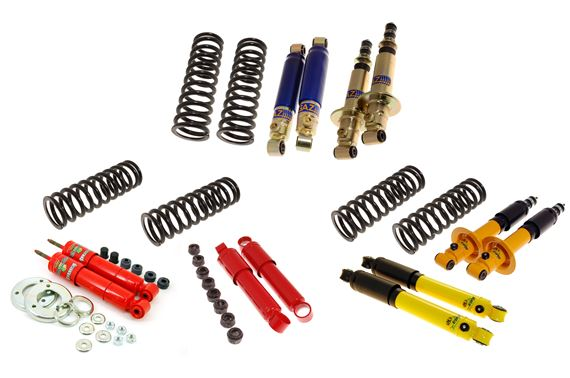 Triumph GT6 Uprated Shock Absorber and Front Spring Packages