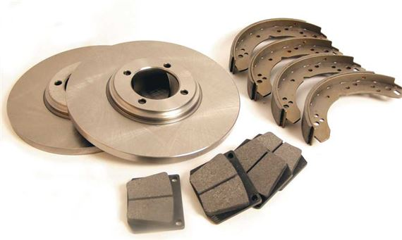 Triumph GT6 Front Brake Discs and Fittings