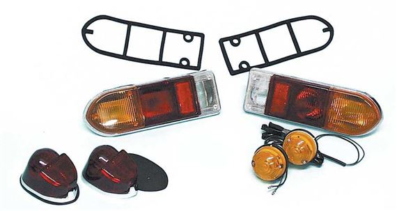 Triumph GT6 Rear Lamps and Fittings Mk3