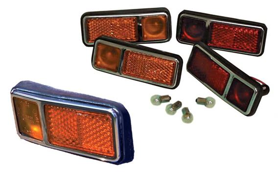 Triumph GT6 Cruise Lights - Front and Rear (USA)