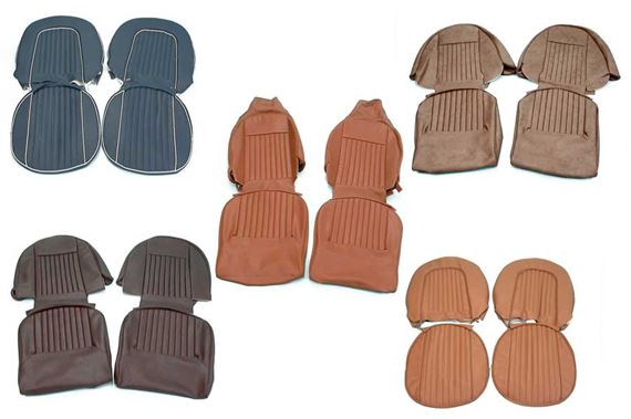 Triumph GT6 Seat Cover Kits (UK Spec) Mk2 (1969 - 1970, from KC75031)