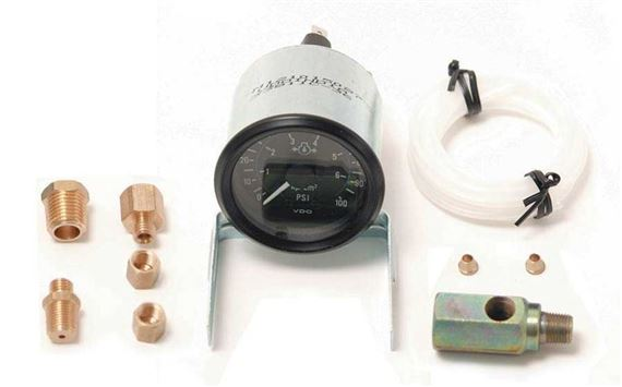 Triumph Dolomite and Sprint Oil Pressure Gauge Kit - GRID008186