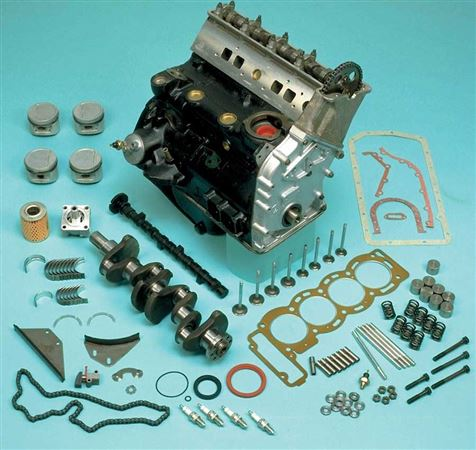 Triumph Dolomite and Sprint Cylinder Block and Components