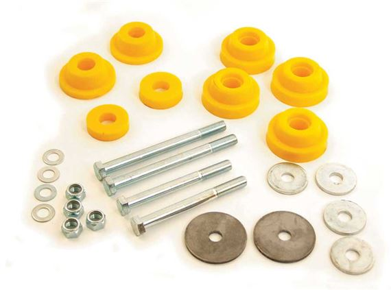 Triumph Dolomite and Sprint Subframe Mounting Bush and Bolt Kits