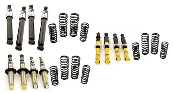 Triumph Dolomite and Sprint Shock Absorber Kits with Standard Springs