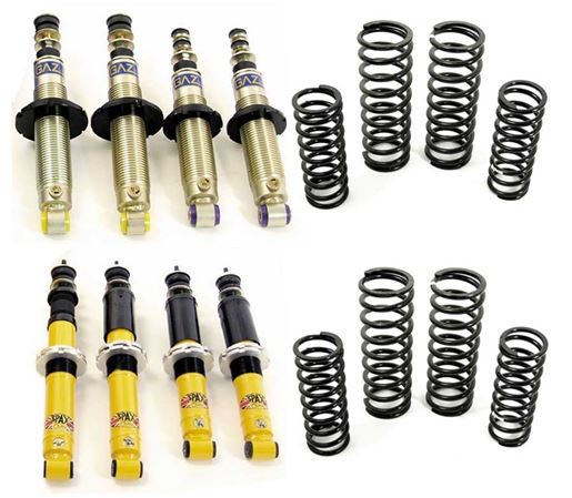 Triumph Dolomite and Sprint Shock Absorber Kits with Uprated Springs
