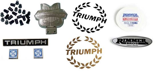 Triumph Dolomite and Sprint Badges/Transfers/Stripes