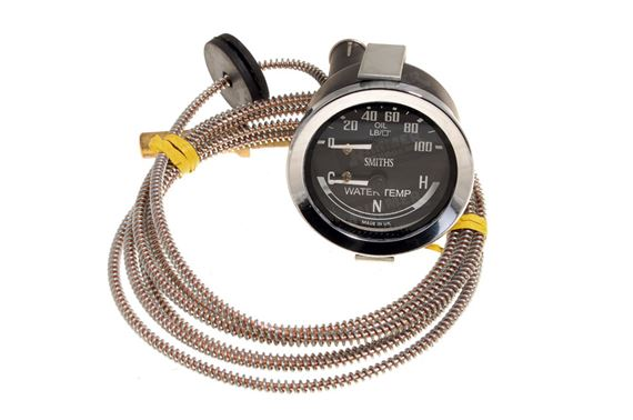 Triumph Stag Oil Pressure and Water Temperature Gauges - GRID008606