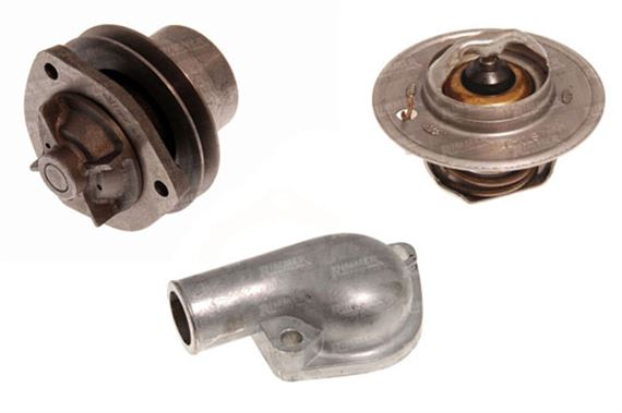 Triumph 2000/2500/2.5Pi Water Pump and Thermostat