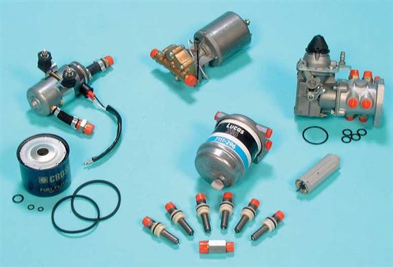 Triumph 2000/2500/2.5Pi Fuel Injection System - Fuel Pump, PRV and Filter