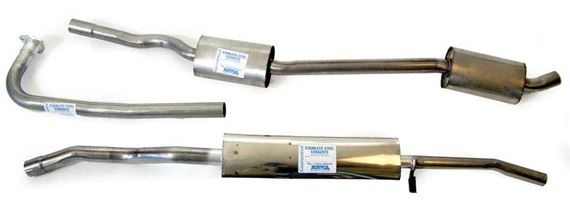 Triumph 2000/2500/2.5Pi Stainless Steel Exhaust Systems - Saloons
