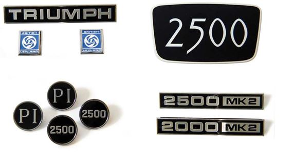 Triumph 2000/2500/2.5Pi Badges