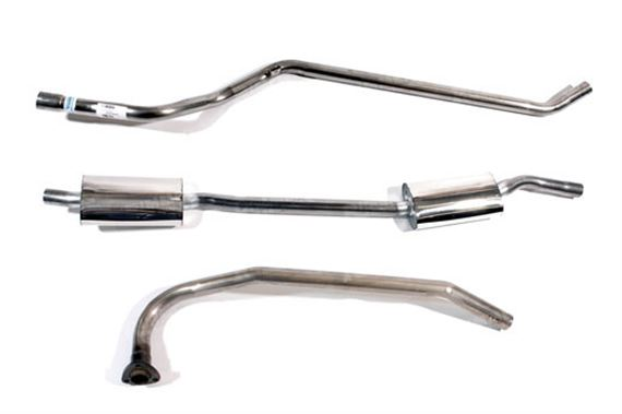 Triumph 2000 Mk1 Stainless Steel Exhaust Systems - Auto from MB11361