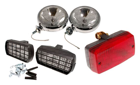 Triumph GT6 Driving Lights and Fog Lights