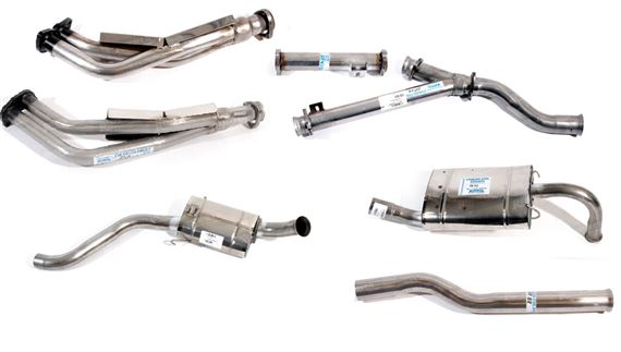 Rover SD1 Exhaust System Components - 3500 Carb 1976-1982